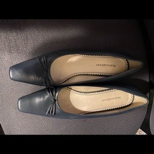 Navy dress shoes by Naturalizer